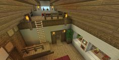 Survival house – - Minecraft World Minecraft Farmen, Modern Minecraft Houses, Minecraft Houses Survival, Minecraft Houses Blueprints, Minecraft Construction, Minecraft Architecture, Minecraft Crafts, Minecraft Buildings, Minecraft Kitchen Ideas