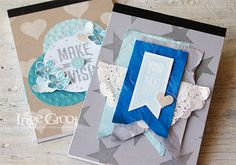 Stampin' Cards And Memories: Stampin' Club Juli, Make a Wish. Perfect Pennants, Petite Petals, Banners Framelits Dies