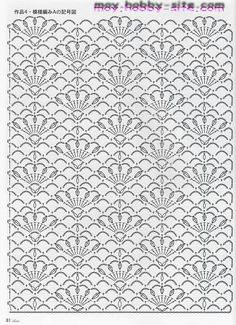 Crochet stitch chart pattern by deann Filet Crochet, Crochet Bolero, Crochet Stitches Chart, Crochet Motifs, Crochet Diagram, Knitting Stitches, Crochet Lace, Crochet Patterns, Confection Au Crochet