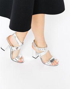 69c8c9c836343 Image 1 of ASOS HONDURAS Heeled Sandals Zapatos Dama