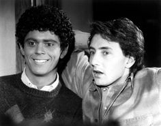 SOUL MAN, C.Thomas Howell, Arye Gross, 1986 | Essential Film Stars, Arye Gross http://gay-themed-films.com/film-stars-arye-gross/