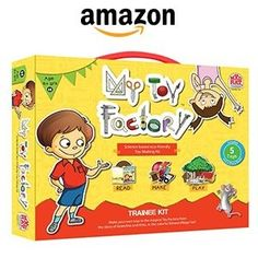 Madrat Games My Toy Factory Trainee (Multi Color) at Rs.269 Free Shipping – Amazon