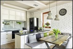 kitchen idea rustic