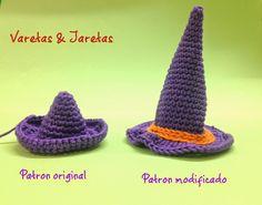 Varetas & Jaretas: Brujita Halloween a crochet