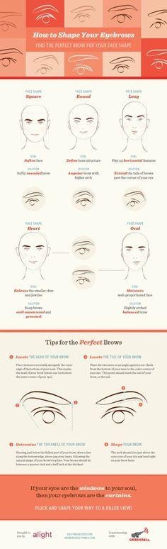 Great eyebrow tips!
