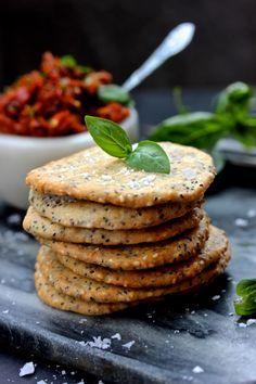Glutenfria mandelkex med sesam- och chiafrön | Supermat