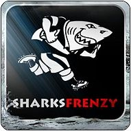 Sharks Forever Rugby Logo Rugby Team Rugby Sport