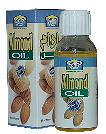 AL Khair's Sweet Almond Oil – A Natural Treatment for Heart Disease & Dry Skin. 100% Pure, no additives or preservatives.    Almond oil (also known as roghan badam) is an effective heart disease remedy and a natural treatment for strengthening the immune system. Almond oil is also a dry skin treatment which moisturizes, beautifies and protects the skin from diseases such as eczema.