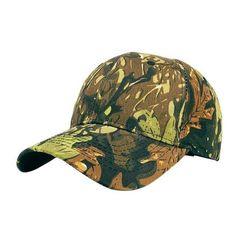 Camouflage Baseball Cap.  outdoors hunter nature bow deer animals 5b6847bccb23