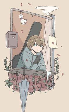 Anime Scenery Wallpaper, Cute Anime Wallpaper, Cute Cartoon Wallpapers, Animes Wallpapers, Anime Drawings Sketches, Kawaii Drawings, Cute Drawings, Cute Art Styles, Cartoon Art Styles