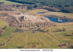 Landfill - aerial photo
