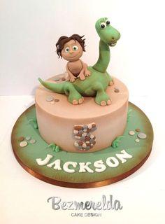 The Good Dinosaur themed cake