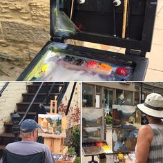 Paint the Point Plein Air Painting competition and sale. August 10-13, 2016