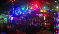 Swing Bar, Lamai beach, Koh Samui.