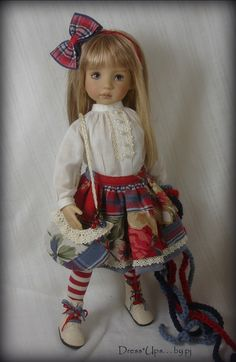 """Cottage Charm"" for Dianna Effner Little darlings - by DressUps. . . by pj"