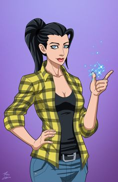 Zatanna (Civilian) commission by phil-cho