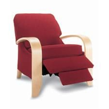 Red Carlyle Recliner by La-Z-Boy