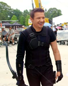 Behind the Scenes of Captain America Civil War - Hawkeye / Jeremy Renner