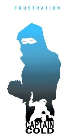 Captain Cold by Steve Garcia Silhouettes The Justice League