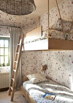 "Check out our internet site for even more relevant information on ""modern bunk beds for adults"". It is actually a great location for more information. Modern Bunk Beds, Cool Bunk Beds, Kids Bunk Beds, Childrens Room Decor, Kids Decor, Home Decor, Loft Spaces, Kid Spaces, Creative Beds"