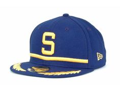 Seattle Pilots New Era MLB Cooperstown 59FIFTY Cap Hats