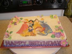 Disney Princess Birthday Sheet Cakes Disney princes