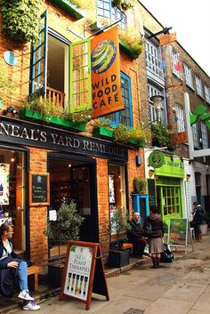 Neal`s Yard,London
