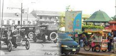 Antes y Despues Plaza de la Libertad