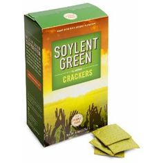 Soylent Green Crackers, they really exist!
