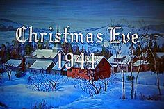 The start of my all time favorite Christmas movie - White Christmas.