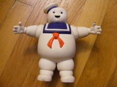 Stay Puft Marshmellow Man action figure 80's toy.