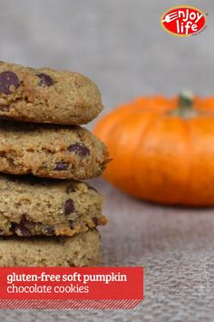 Allergy-friendly Pumpkin Chocolate Cookies are the perfect treat for when you need that seasonal sweet fix.