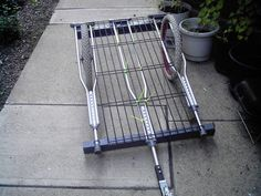Bike Trailer made of re-purposed found objects. - http://www.survivalacademy.co/