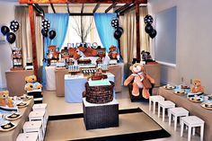 Teddy Bear party - adorable!