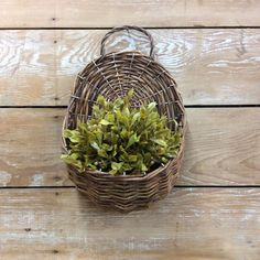 (Containers) Willow Hanging Basket