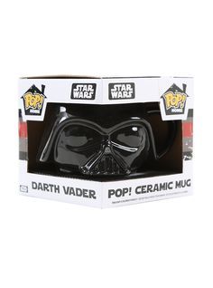 <p>Not so long ago, in a galaxy pretty close by, Funko made your favorite <i>Star Wars</i> character into a mug! Incorporating the memorable design of Pop! vinyl figures, this <i>Star Wars</i> Darth Vader ceramic mug is just what <i>Star Wars</i> fans need for their coffee or soup. Vader can hold up to 12 ounces of liquid. Hand wash only. Not dishwasher safe. Do not microwave.</p>  <ul> 	<li>12 oz.</li> 	<li>Ceramic</li> 	<li>Imported</li> 	<li>By Funko</li> </ul>