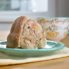 This coffee cake is gluten-free and dairy-free! It was soft and sweet, but not too sweet. Kind of perfect for breakfast.
