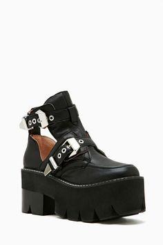 Jeffrey Campbell Asylum Platform Boot | Shop Boots at Nasty Gal