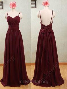 Open Back Bridesmaid Dresses #sexy #bridesmaid_dress