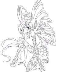 DeviantART More Like Bloom Flora E Stella Sirenix Official By Find This Pin And On Winxclub Coloring Pages