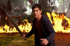Logan Lerman in Percy Jackson Sea of Monsters 2013