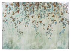 Home :: Interior Wall Art :: Lacquered Gloss Prints :: Set 2 Vine Mist Lacquered Print Wall Art
