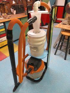 Dust Deputy Vacuum Cart
