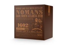 Noman's Rum by Bluerock Design , via Behance