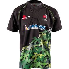Global Fiji Away Rugby Shirt S/S 2013