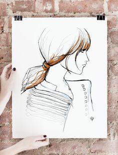Belle de Jour Art Print, Limited Edition of 75