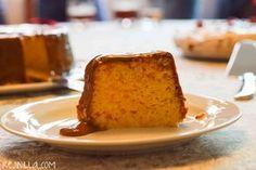 Tres leches cake with cajeta Pastel de tres leches con cajeta REJINILLA