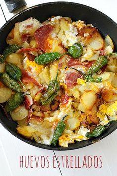 Cocina – Recetas y Consejos Kitchen Recipes, Egg Recipes, Mexican Food Recipes, Vegetarian Recipes, Cooking Recipes, Great Recipes, Healthy Recipes, Favorite Recipes, Food Porn