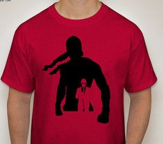 Daredevil: Netflix Series One Silhouette T-Shirt by DJsDecals on Etsy