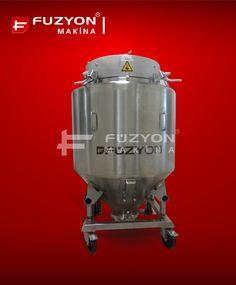 Kimya Paslanmaz Ekipmanları - Paslanmaz IBC Flowbin Tankı | Füzyon Makina